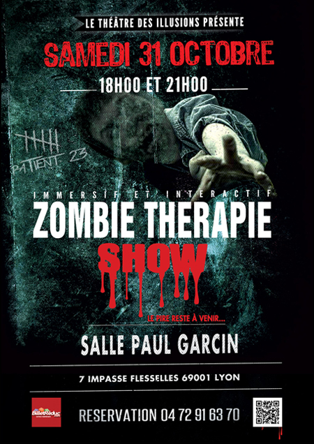 Zombie Therapie - Soirée Halloween - Anthony-James Magicien - Lyon